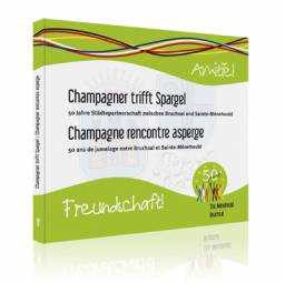 Champagner trifft Spargel